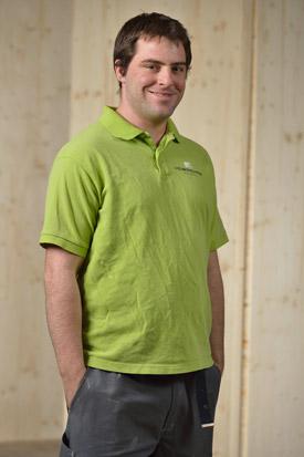 Hübscher Holzbau Mitarbeiter Bruno Lörcher