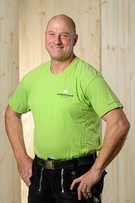 Hübscher Holzbau Mitarbeiter Dieter Adam