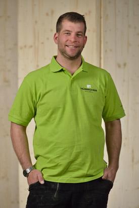Hübscher Holzbau Mitarbeiter Lorenz Uehlinger