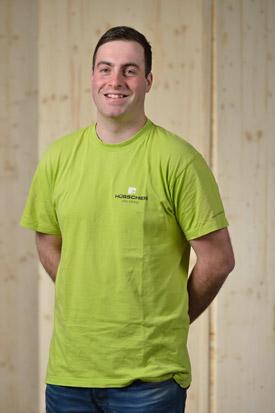 Hübscher Holzbau Mitarbeiter Matthias Gubser