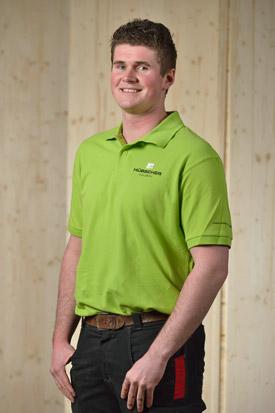 Hübscher Holzbau Mitarbeiter Matthias Kaiser