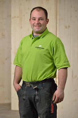 Hübscher Holzbau Mitarbeiter Matthias Kramer