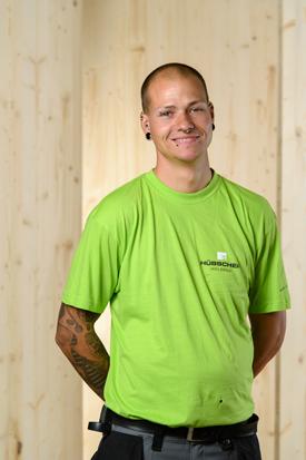 Hübscher Holzbau Mitarbeiter Marcel Wanner
