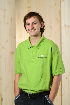 Hübscher Holzbau Mitarbeiter Nico Hauenstein