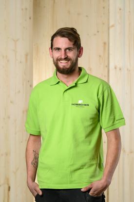 Hübscher Holzbau Mitarbeiter Patrick Burgunder