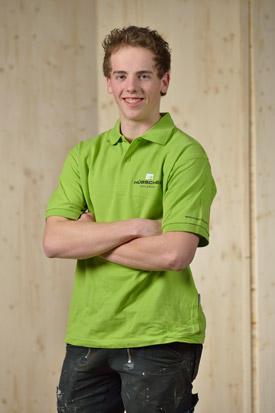 Hübscher Holzbau Mitarbeiter Patrick Schneider