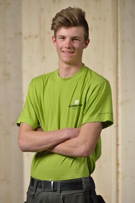 Hübscher Holzbau Mitarbeiter Roman Waldvogel