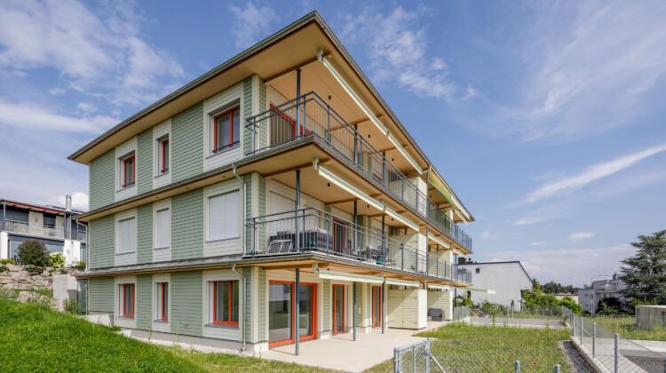 Mehrfamilienhaus Holzbau