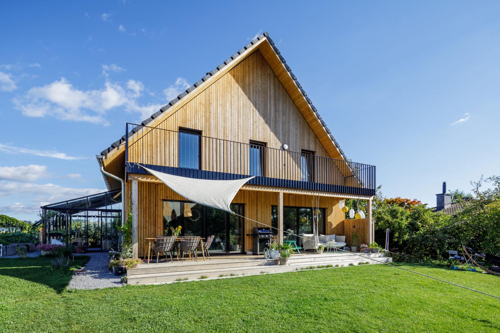 Holzhaus ökologisch
