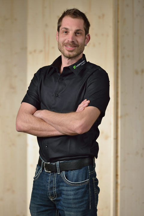 Hübscher Holzbau Ansprechpartner Andres Bruderer