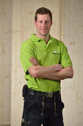 Hübscher Holzbau Mitarbeiter Daniel Kundert
