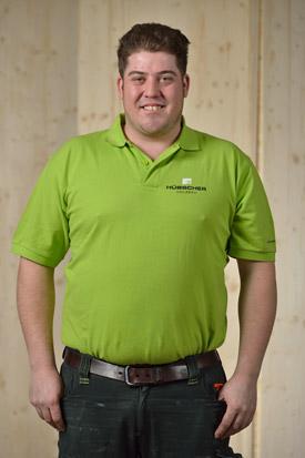 Hübscher Holzbau Mitarbeiter Patrick Vogelsanger