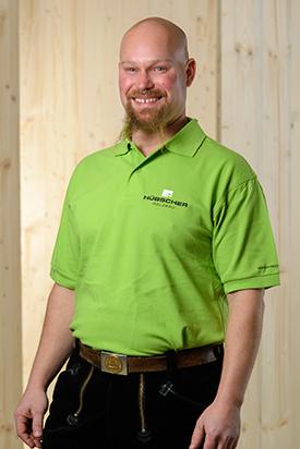 Hübscher Holzbau Mitarbeiter Simon Houtenbos