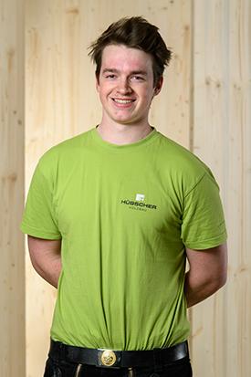 Hübscher Holzbau Mitarbeiter Simon Maier