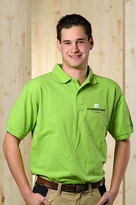 Hübscher Holzbau Mitarbeiter Sven Labhart