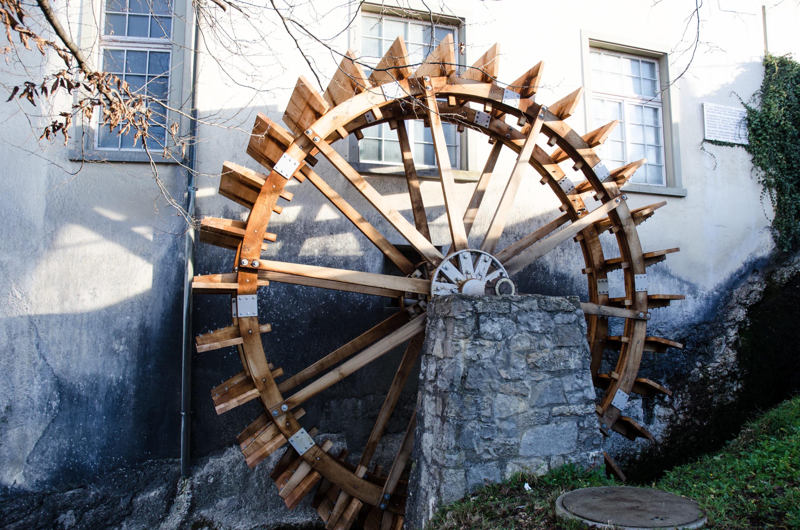 Mühlerad Rheinfall